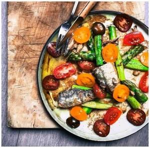 Jolie salade - José Gourmet - Conserves de sardines du Portugal