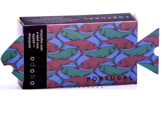 Sardines sans peau sans arêtes à l'huile d'olive – Conserves Riscos – Conserves de poissons du Portugal